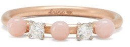 Irene Neuwirth - Opal, Diamond & 18kt Rose-gold Ring - Womens - Rose Gold