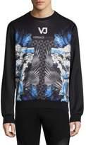 Versace Graphic Crewneck Sweater