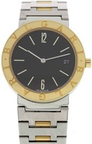 Bulgari Diagono BB 33 SGD 18K Yellow Gold & Stainless Steel 33mm Unisex Watch