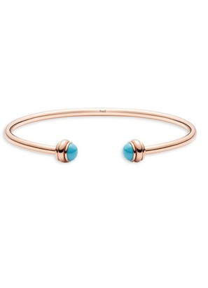 Piaget Possession Turquoise & 18K Rose Gold Open Bangle