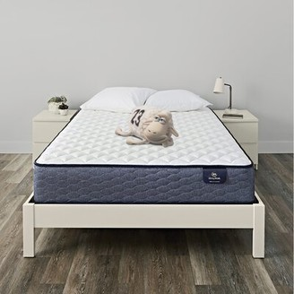 "Serta SleepTrue 11.5"" Alverson II Firm Innerspring Mattress and Box Spring Mattress Size: Twin XL, Box Spring Height: Low Profile (5"")"