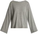 Elizabeth and James Everest boat-neck wide-sleeve sweater