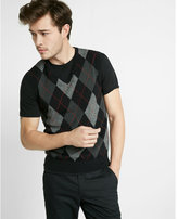 Express argyle sweater vest