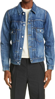 Visvim SS 101 Dry Damaged 999 Denim Jacket
