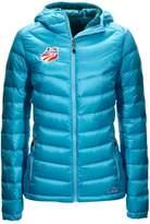 L.L. Bean Ultralight 850 Down Hooded Jacket U.S. Ski Team Misses Regular