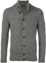 Zanone knitted cardigan