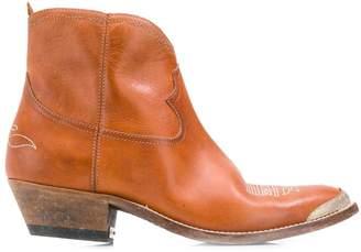 Golden Goose western zip boots