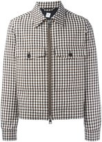 Ami Alexandre Mattiussi checked zipped jacket - men - Acetate - S