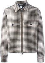 Ami Alexandre Mattiussi checked zipped jacket