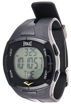 Everlast HR2 Heart Rate Monitor Digital Watch with Black Rubber Strap