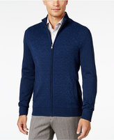 Alfani Men's Dash-Line Full-Zip Sweater, Only at Macy's