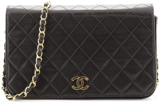Chanel Full Flap Bag Quilted Lambskin Medium