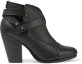 Rag & Bone Harrow perforated leather ankle boots