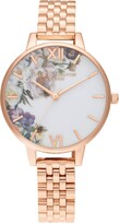 Olivia Burton Enchanted Garden Bracelet Watch, 34mm