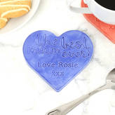 Old Forge Creations Personalised Ceramic 'Best Mum Ever' Coaster