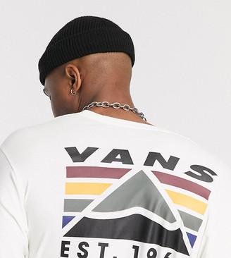 Vans Mountain long sleeve top in cream Exclusive at ASOS