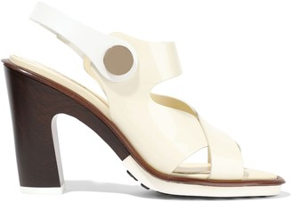 Tod's Studded Patent-leather Sandals