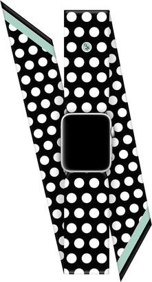 Wristpop Bombshell Black 42mm/44mm Apple Watch Scarf Watch Band