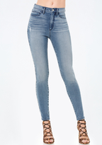 Bebe High Waist Skinny Jeans