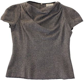 Etoile Isabel Marant Anthracite Wool Top for Women