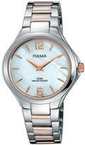 Pulsar Women's 'Dress Sport' Quartz Stainless Steel Dress Watch (Model: PM2217)