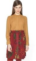 PepaLoves Printed Button Up Skirt