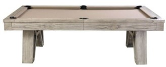 Pool' Corbin Slate 8' Pool Table With Professional Installation Included Plank & Hide