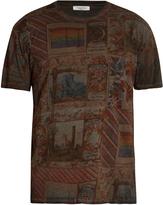 Valentino Cigar Box-print cotton T-shirt