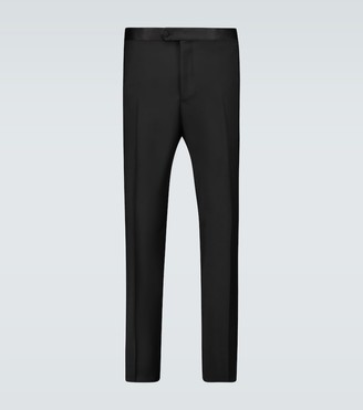 Caruso Wool and mohair formal pants