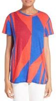 Proenza Schouler Women's Tie Back Baggy Tissue Jersey Tee