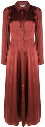 Forte Forte Gathered Chest Shirt Dress