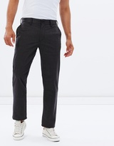 DC Mens Worker Straight Fit Heather Chino 32 Pants