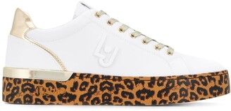 Liu Jo Silvia animal-print sneakers