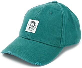 Diesel Corduroy Logo Baseball Cap