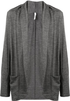 Attachment open front cardigan