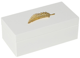 Mapleton Drive Medium Lacquer Box with Leaf