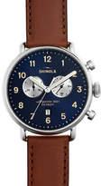 Shinola 43mm Canfield Chronograph Watch