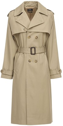 A.P.C. Simone Serge Cotton Trench Coat
