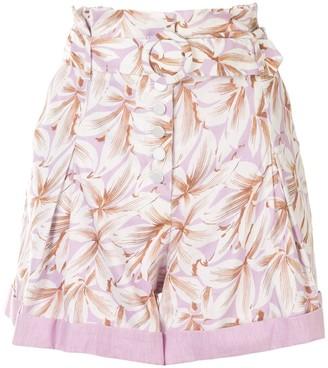 Jonathan Simkhai Lillian floral print shorts