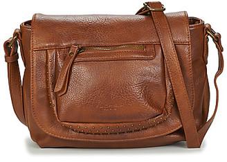 Fuchsia F9897 women's Shoulder Bag in Beige