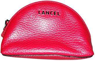 Lancel Lettrines Red Leather Purses, wallets & cases