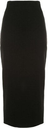 Dusan Fitted Jersey Skirt