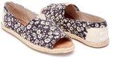 Toms Women's Alpargata Open Toe Floral Textile Ankle-High Synthetic Flat Shoe - 6.5M