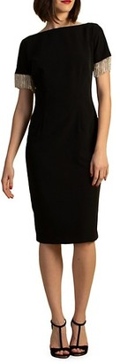 Trina Turk Eastern Look Hinoki Sheath Dress