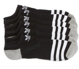 adidas Men's Original Roller 3-Pack No-Show Socks