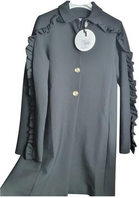 VIVETTA Black Viscose Coats