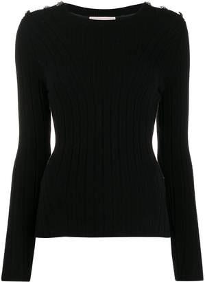 Alexander McQueen knitted slim-fit jumper