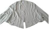 Armani Collezioni Grey Silk Jacket for Women