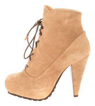 Proenza Schouler Grey Suede Ankle boots