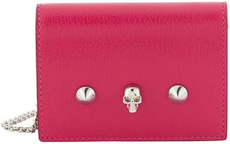 Alexander McQueen Card holder with chain